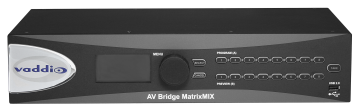 Vaddio Showcases New AV Bridge MatrixMIX Multipurpose AV Switcher at InfoComm