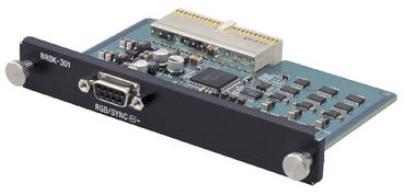 BRBK-301, Analog/RGB Component Card for WallVIEW 300 PTZ