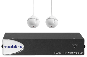 EasyUSB MicPOD I/O and Two Ceiling MicPODs
