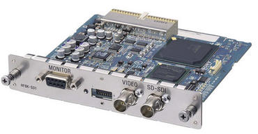 HFBK-SD1 SD-SDI, Analog RGB/Component/S-Video/Composite Interface Card for WallVIEW H700