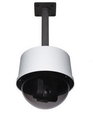 DomeVIEW HD Outdoor Pendant Dome Enclosure for Vaddio RoboSHOT and HD-Series PTZ Cameras