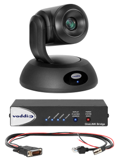 RoboSHOT 12E HDBT OneLINK Bridge System for Polycom Codecs