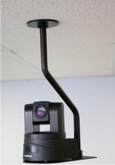 Off-Set Drop Down Mount for Vaddio™ RoboSHOT™ and HD-Series PTZ Cameras