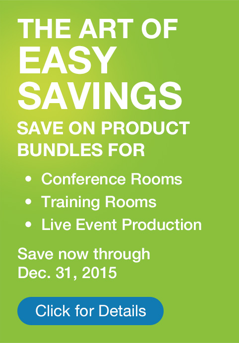 The art of easy savings. Save 20% on product bundles.